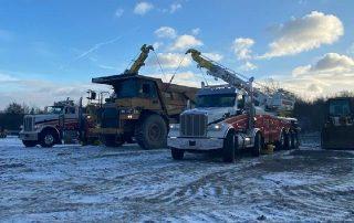 Construction Equipment Towing 35,000 Lb 1