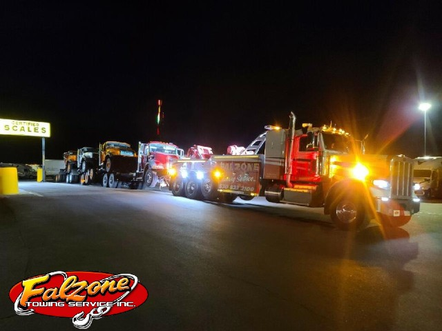 semi tow truck