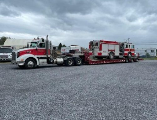 Heavy Towing A Fire Truck For 2 Hours!